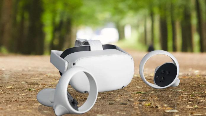 Jouer dehors avec l'Oculus Quest 2 !