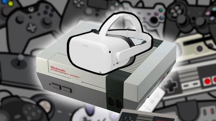 Peut on faire de l'émulation en VR ? Quels émulateurs en VR ? rétrogaming VR